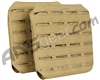 Valken Airsoft Tactical Plate Carrier Side Panel LC (2 Pack) - Tan