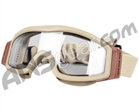 Valken V-Tac Tango Airsoft Goggles - Thermal Lens - Tan
