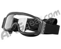 Valken V-Tac Tango Airsoft Goggles - Single Lens - Black