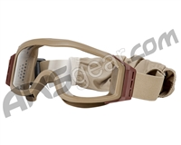 Valken V-Tac Tango Airsoft Goggles - Single Lens - Tan