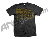 Valken Paintball Sports Company T-Shirt - Grey