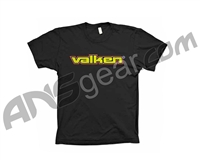 Valken Paintball Word T-Shirt - Black