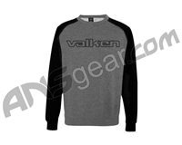 Valken Crew Long Sleeve T-Shirt - Charcoal