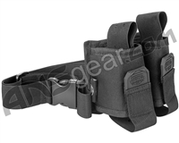 Valken Gotcha Twin Pod Pouch w/ Web Belt - Black