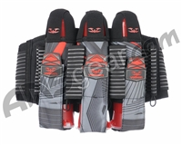 2015 Valken Redemption Vexagon Paintball Harness 3+6 - Red/Grey