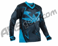 2015 Valken Redemption Vexagon Paintball Jersey - Navy/Light Blue