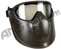 Valken VSM Thermal Airsoft Goggles w/ Face Shield - Olive/Clear