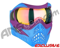 V-Force Grill Paintball Mask - SE Purple/Blue w/ Crystal HDR Lens