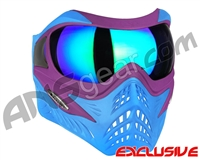 V-Force Grill Paintball Mask - SE Purple/Blue w/ Kryptonite HDR Lens
