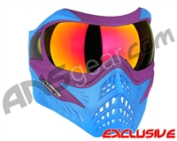 V-Force Grill Paintball Mask - SE Purple/Blue w/ Magneto HDR Lens