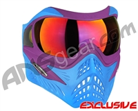 V-Force Grill Paintball Mask - SE Purple/Blue w/ Metamorph HDR Lens