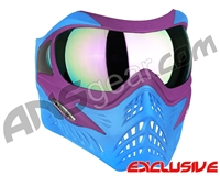 V-Force Grill Paintball Mask - SE Purple/Blue w/ Phantom HDR Lens
