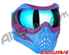 V-Force Grill Paintball Mask - SE Purple/Blue w/ Pulsar HDR Lens