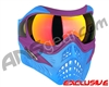 V-Force Grill Paintball Mask - SE Purple/Blue w/ Supernova HDR Lens