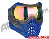V-Force Grill Paintball Mask - Azure w/ Crystal HDR Lens