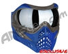 V-Force Grill Paintball Mask - Azure w/ Quicksilver HDR Lens