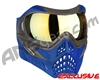 V-Force Grill Paintball Mask - Azure w/ Titan HDR Lens