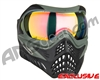 V-Force Grill Paintball Mask - Forest Green w/ Crystal HDR Lens