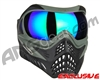V-Force Grill Paintball Mask - Forest Green w/ Kryptonite HDR Lens