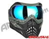 V-Force Grill Paintball Mask - Forest Green w/ Pulsar HDR Lens