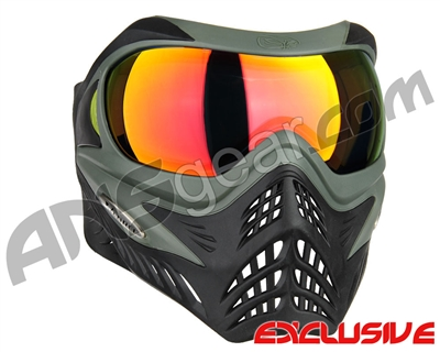 V-Force Grill Paintball Mask - Forest Green w/ Supernova HDR Lens