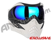 V-Force Grill Paintball Mask - Ghost w/ Imperial HDR Lens