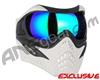 V-Force Grill Paintball Mask - Ghost w/ Kryptonite HDR Lens