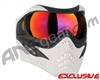 V-Force Grill Paintball Mask - Ghost w/ Metamorph HDR Lens