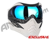 V-Force Grill Paintball Mask - Ghost w/ Pulsar HDR Lens