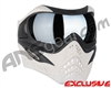 V-Force Grill Paintball Mask - Ghost w/ Quicksilver HDR Lens