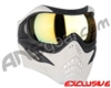 V-Force Grill Paintball Mask - Ghost w/ Titan HDR Lens
