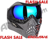 V-Force Grill Paintball Mask - SE GI Logo Charcoal w/ Imperial HDR Lens