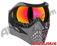 V-Force Grill Paintball Mask - SE GI Logo Charcoal w/ Magneto HDR Lens