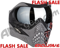 V-Force Grill Paintball Mask - SE GI Logo Charcoal w/ Mirror Silver Lens