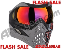 V-Force Grill Paintball Mask - SE GI Logo Charcoal w/ Metamorph HDR Lens