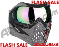 V-Force Grill Paintball Mask - SE GI Logo Charcoal w/ Phantom HDR Lens