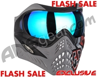 V-Force Grill Paintball Mask - SE GI Logo Charcoal w/ Pulsar HDR Lens