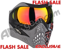V-Force Grill Paintball Mask - SE GI Logo Charcoal w/ Supernova HDR Lens