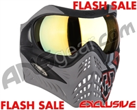 V-Force Grill Paintball Mask - SE GI Logo Charcoal w/ Titan HDR Lens