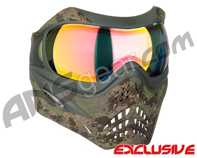 Planet Eclipse V-Force Grill Paintball Mask - HDE w/ Crystal HDR Lens