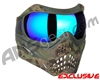 Planet Eclipse V-Force Grill Paintball Mask - HDE w/ Imperial HDR Lens
