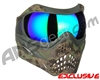 Planet Eclipse V-Force Grill Paintball Mask - HDE w/ Kryptonite HDR Lens