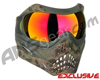Planet Eclipse V-Force Grill Paintball Mask - HDE w/ Magneto HDR Lens
