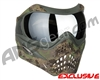 Planet Eclipse V-Force Grill Paintball Mask - HDE w/ Mercury HDR Lens