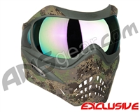 Planet Eclipse V-Force Grill Paintball Mask - HDE w/ Phantom HDR Lens