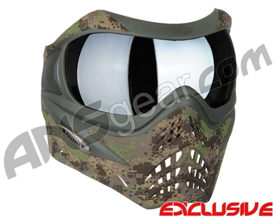 Planet Eclipse V-Force Grill Paintball Mask - HDE w/ Quicksilver HDR Lens