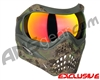 Planet Eclipse V-Force Grill Paintball Mask - HDE w/ Supernova HDR Lens