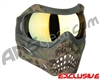 Planet Eclipse V-Force Grill Paintball Mask - HDE w/ Titan HDR Lens