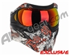 V-Force Grill Paintball Mask w/ HDR Lens - Joker Red