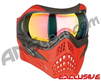 V-Force Grill Paintball Mask - Scarlet w/ Crystal HDR Lens